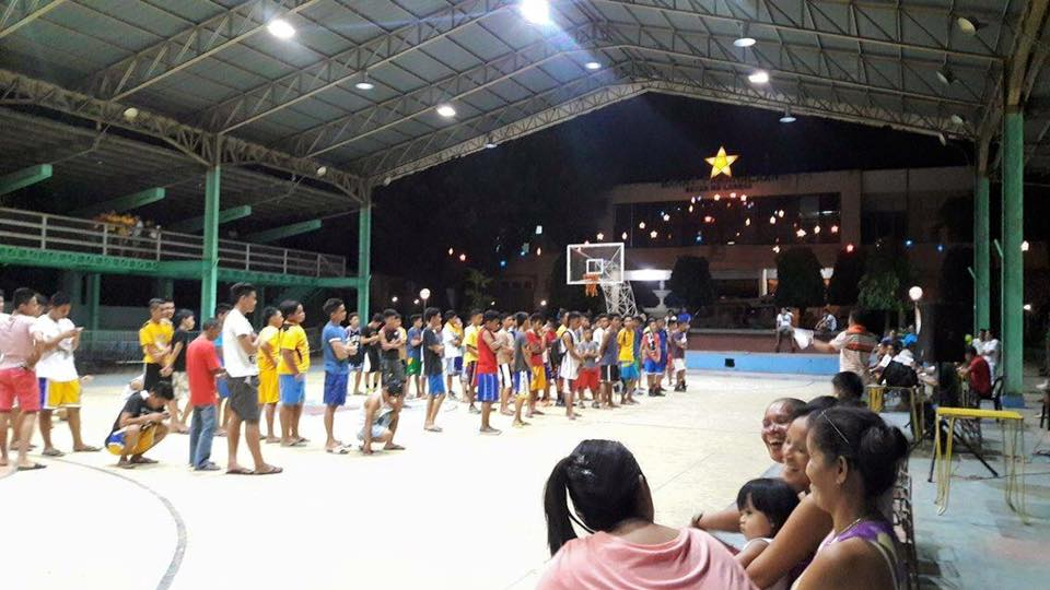 Inter-Barangay Basketball Tournament Opening