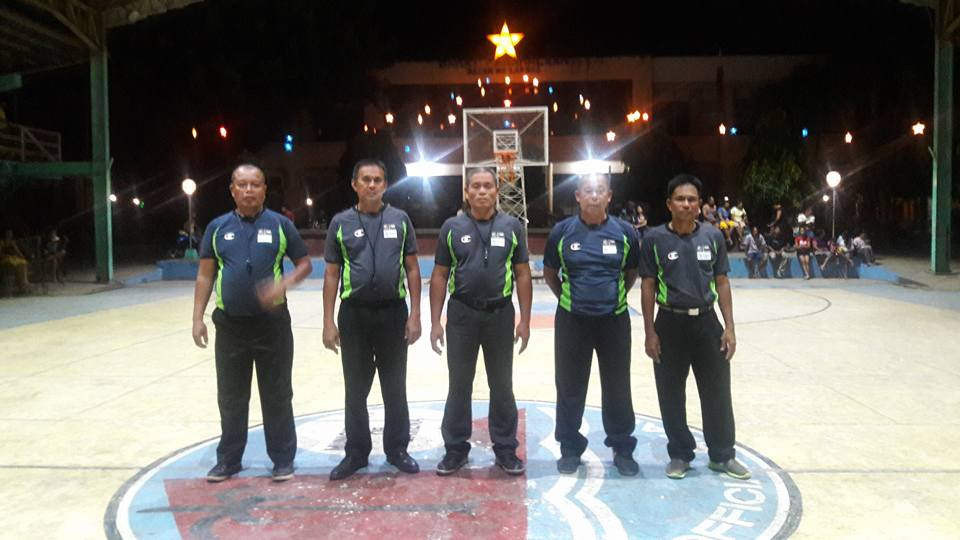 Referees for tonight's final competition