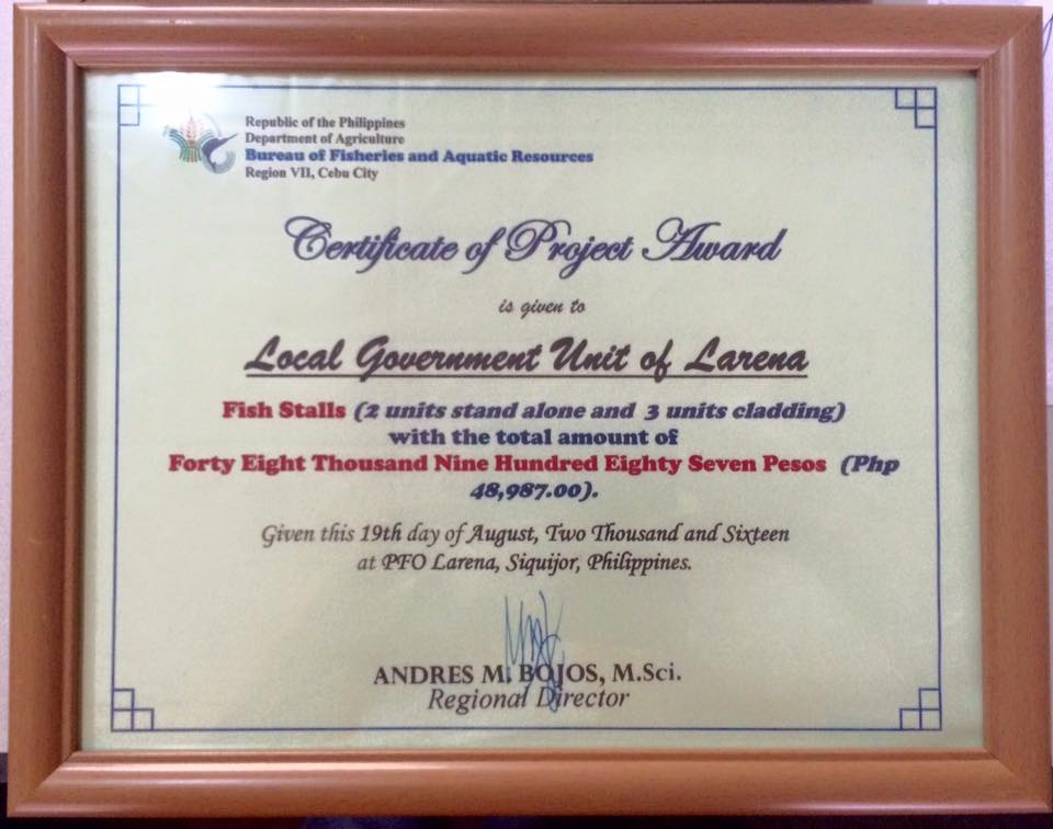 certificate-of-project-award